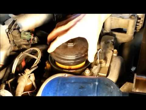 how to change the fuel filter on a 7 3 diesel