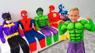 Vlad trở thành siêu anh hùng và giúp đỡ bạn bè