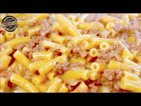 Mac and Cheese Cheeseburger recipe - How to make DIY