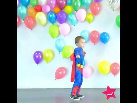 Supermannen dräkter i mängd och massor