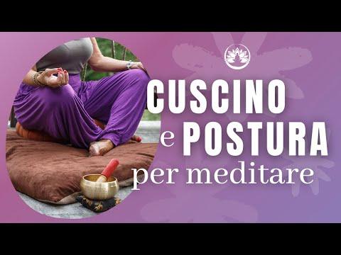 Come meditare, parte 3: Cuscino e Posizioni