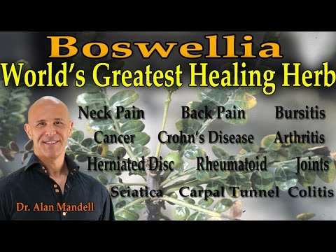 Video Boswellia - The World's Greatest Healing Herb (Inflammation, Pain, Arthritis, Cancer) - Dr Mandell