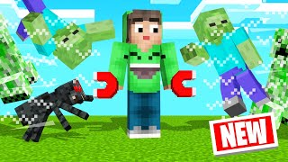 MINECRAFT But I'm A MOB MAGNET! (Funny)
