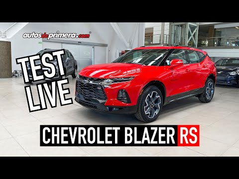 ((TEST LIVE)) 🔥 CHEVROLET BLAZER RS 2020 🔥 EN VIVO