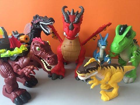 Dinosaurios para niños y Dragón Fisher Price | Kidsplace Town
