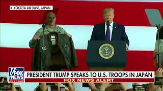 President Trump BEST PRESIDENT EVER Gets Bomber Jacket