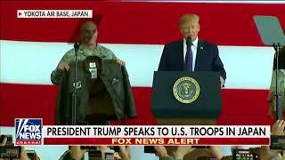 President Trump BEST PRESIDENT EVER Gets Bomber Jacket