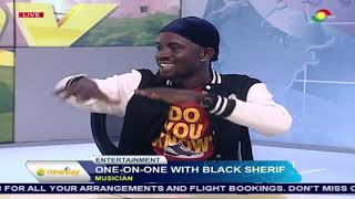 One-on-one with Black Sherif