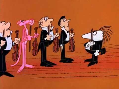 The Pink Panther- Pink Plunk Plink