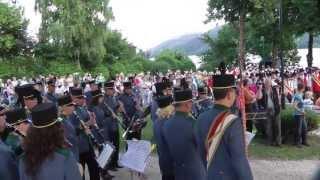 preview picture of video 'Blasmusikfest  in Seeboden mit  29 Blaskapellen'