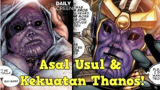 Bagaimana Asal Usul Thanos? Kok Bisa Kuat? (Villain Terkuat MCU)
