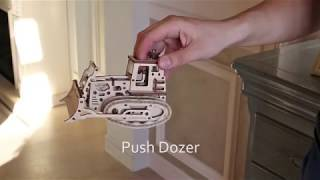 "Time for Machine деревянный конструктор-бульдозер ""Push Dozer"""