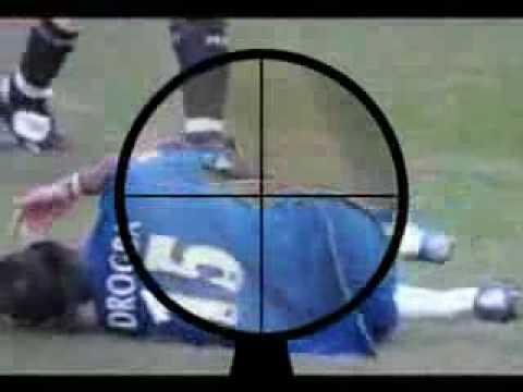 Biggest Football Dive Ever!!! video clip online