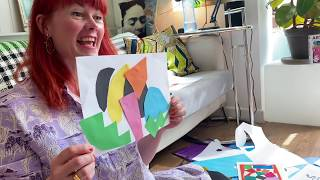 Making Paper Animal Collages In The Style Of Henri Matisse | Art Activities With Children