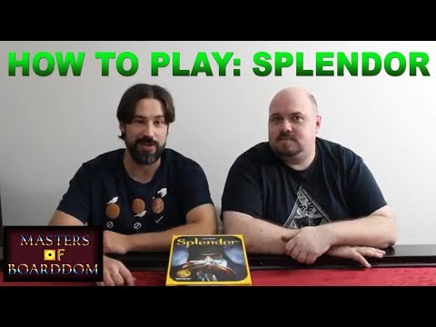 How to Play Splendor - Masters of Boarddom