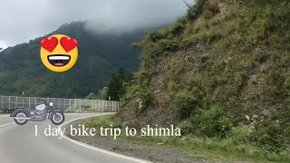Bike Ride from Ambala to Shimla via Kasauli | Great Scenery | Must watch