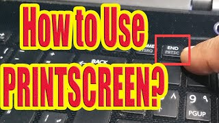 How to 'Print Screen' Screen Capture On Windows Computer
