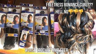 FREETRESS ROMANCE CURL - WORST CROCHET HAIR EVER