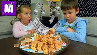 Челлендж ЛОТЕРЕЯ Шопинг на все деньги Зачем Максу микрофон Lottery Kid