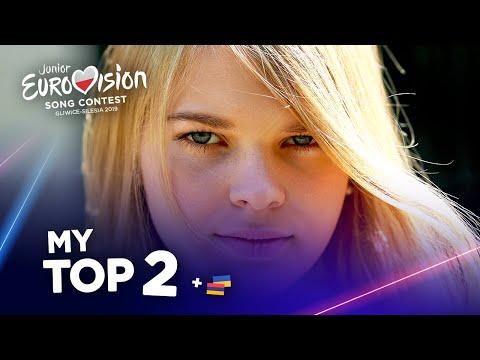 Junior Eurovision 2019 - Top 2 (So far)