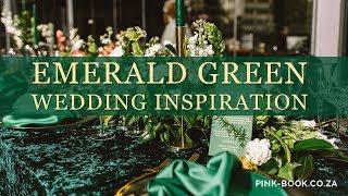 Emerald Green Wedding Inspiration | Pink Book Weddings