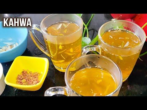 Kahwa Recipe | How To Make Kahwa Tea | Flavoured Tea Recipes | Kashmiri Kahwa | Varun
