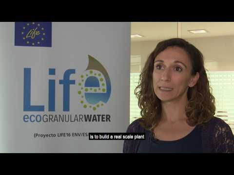 LIFE ECOGRANULARWATER: Planta potabilizadora de agua por métodos biológicos.