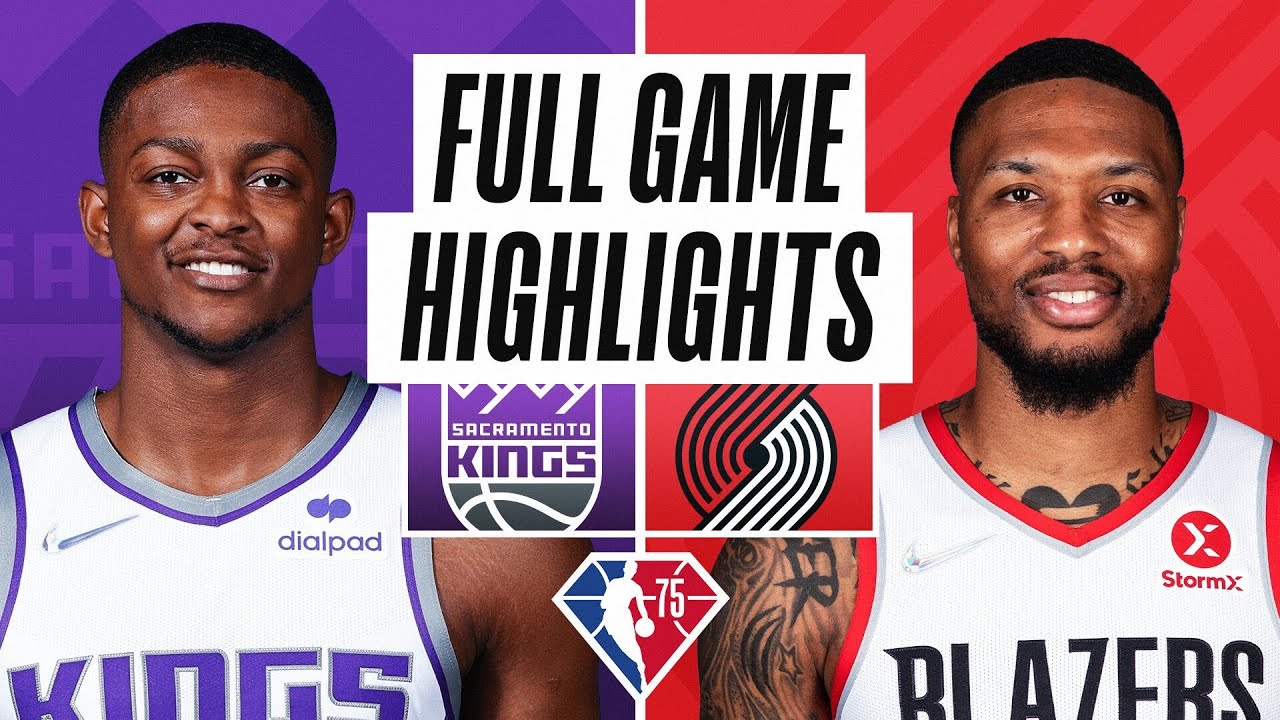 KINGS at TRAIL BLAZERS | FULL GAME HIGHLIGHTS | October 20, 2021