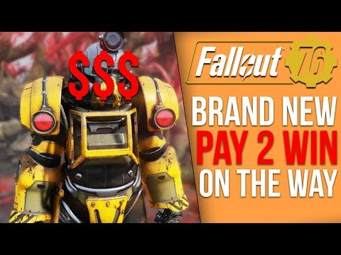 Bethesda Plans to Add Pay to Win Microtransactions into Fallout 76