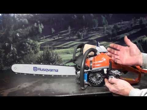 The chainsaw guy shop talk review Husqvarna 550 XP Chainsaw features 12 13
