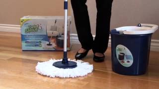 Twist and Shout Mop™ - Attaching Mop Head Instructions