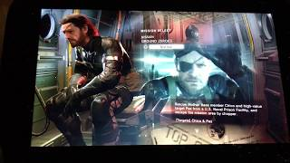 GPD WIN Metal Gear Solid V - Ground Zeroes - PC Gameplay