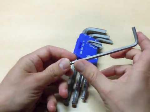 S&R Innensechskantschlüssel Satz HX, Preisleistungs Hammer