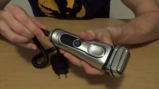 Braun Series 9 / 9090cc / Review / Deutsch
