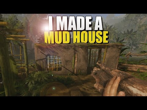 I CREATED A MUD HOUSE In A SWAMP (Green Hell Survival) #8