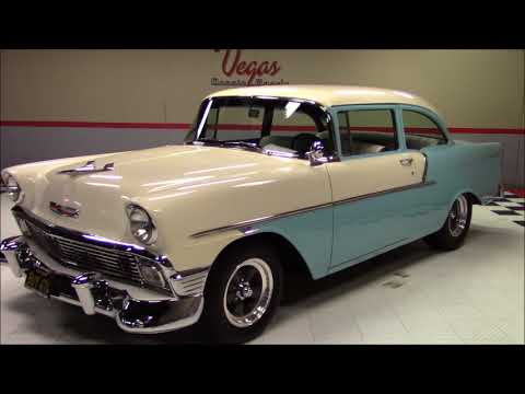 Video of Classic '56 Bel Air located in Nevada Offered by Vegas Classic Muscle Cars - LUM2