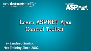 Learn ASP.NET Ajax Control ToolKit  - ASP.Net Tutorial