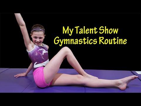 Talent Show Gymnastics Routine | Bethany G
