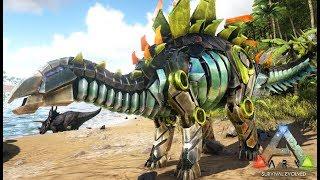 超かっこいい!謎のメカ恐竜を捕獲!ARKゆっくり実況#28-リアルマインクラフト