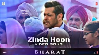 Bharat Movie | Zinda Hoon Video Song Out | Salman Khan