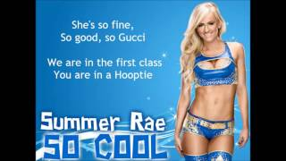 Summer Rae WWE Theme - So Cool (lyrics) - YouTube