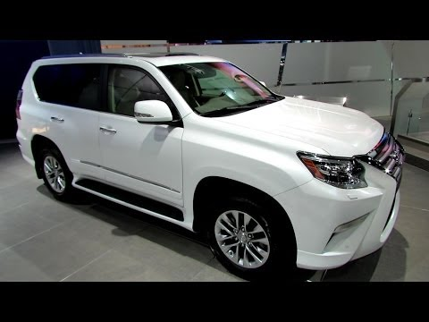 2014 Lexus GX460 - Exterior and Interior Walkaround - 2013 LA Auto Show