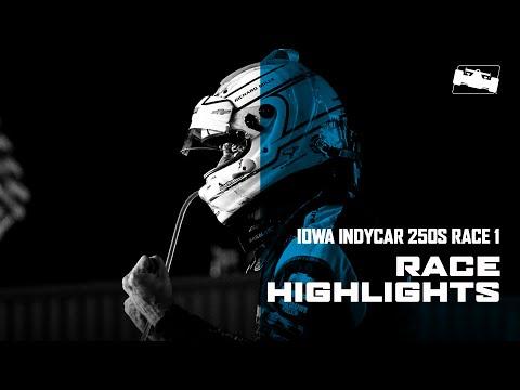 インディカー 第5戦 アイオワ250 レース1 ハイライト動画