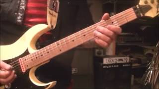 How to play Burning Like A Flame by Dokken on guitar by Mike Gross