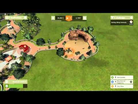 Nové záběry z budovatelské strategie Zoo Tycoon