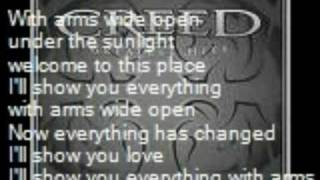 Creed-With Arms Wide Open {with Lyrics}