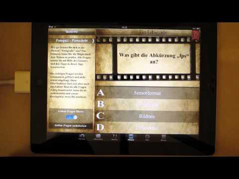 [iOS-App + Video] Fotoguide - Ein riesiges Nachschlagewerk für alle Foto-Begeisterten