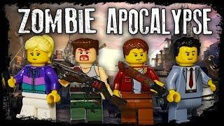 LEGO Zombie Apocalypse / Stop motion, animation