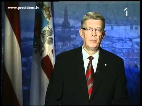 Valsts prezidenta Valda Zatlera paziņojums Latvijas tautai 28/05/2011