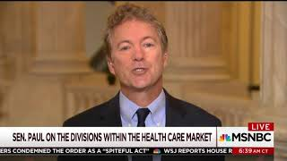 Donald Trump and Rand Paul Unveil Brilliant  Healthcare Reform